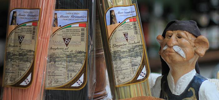 Vendita al dettaglio prodotti sardi
