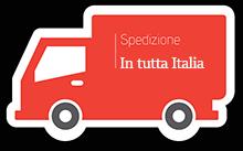 Spedizione in tutta Italia, gratuita entro il GRA