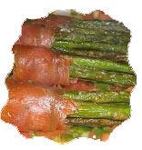 Asparagi con salmone affumicato